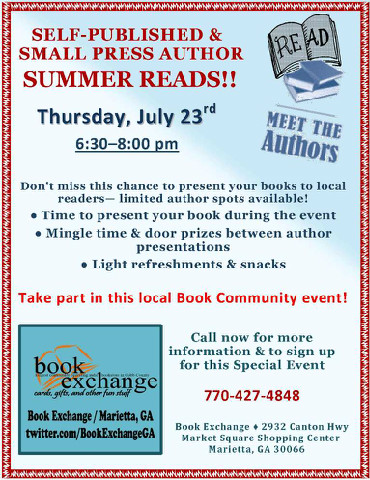 book exchange flyer
